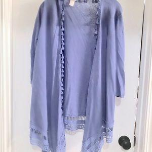 Chico's Blue Summer Sweater - Never worn!